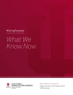 #Giving Tuesday: What We Know Now