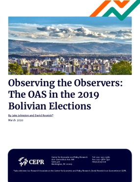 Observing the Observers: The OAS in the 2019 Bolivian Elections