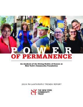 The Power of Permanence: 2019 Philanthropic Trends Report
