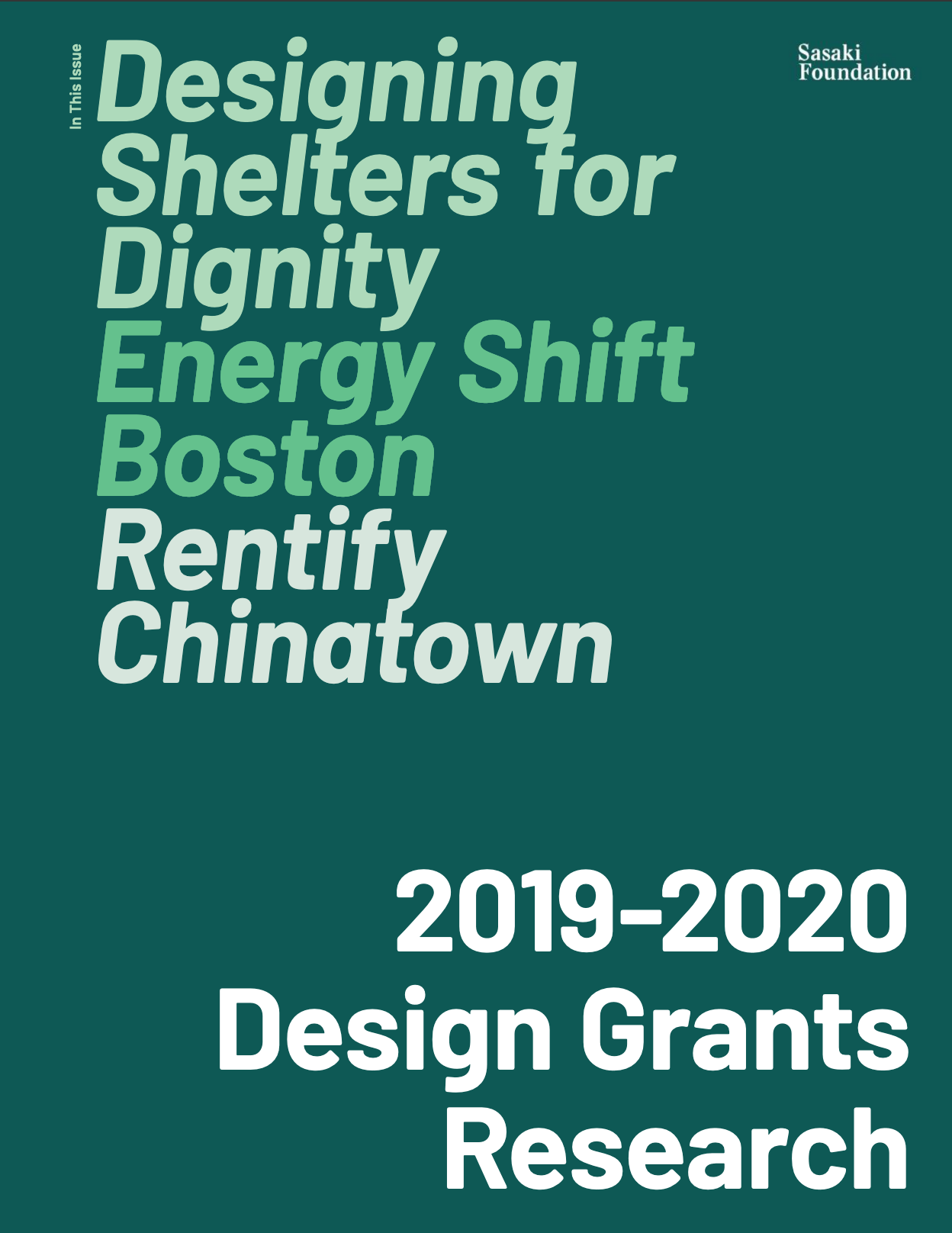 Designing Shelters for Dignity: Energy Shift Boston Rentify  Chinatown